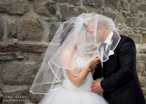Младоженци, заснети от KokoFresha Photography