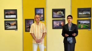"""снимка от откриването на изложбата """"Моите BG пейзажи"""""""