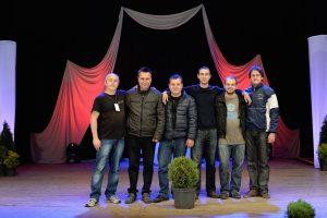 """Снимка на аудиовизуалния екип на конкурса """"15 Лалета"""" 2016"""
