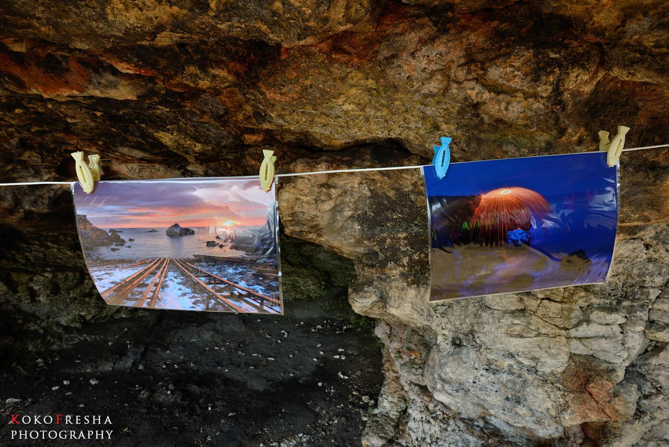 изложба в пещера - моето участие