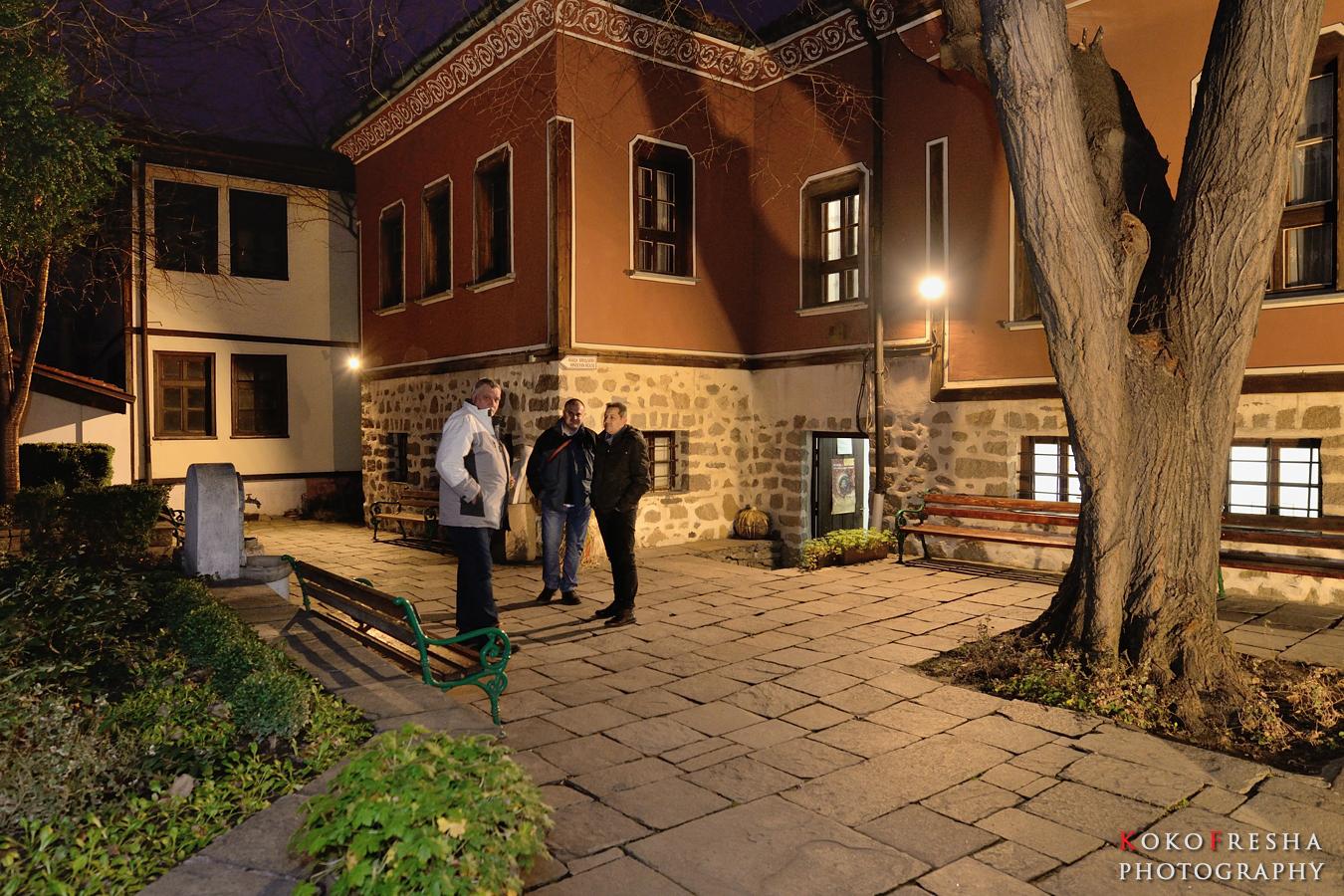 Коледа с фотографска задруга Пловдив - момент от откриването